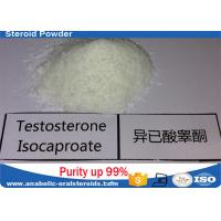 Buy cheap Pure Testosterone Steroid Testosterone Isocaproate Powder 15262-86-9 No Side Effect product