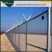 Buy cheap Chain Link Temporary Fence Barriers For Light Residential / Heavy Commercial Area product