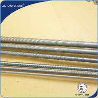 Buy cheap 1m / 2m / 3m Length High Tensile Threaded Rod Grade 8 OEM / ODM Available product