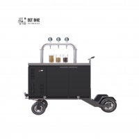 Buy cheap Double Triple Taps Bicycle Beer Cart Digital Temperature Control product
