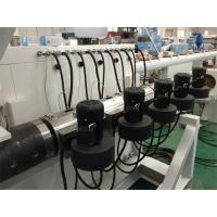 Buy cheap Strong Power HDPE Pipe Manufacturing Machine 110mm - 315mm Anti Aging product