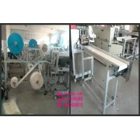 Buy cheap 3 Layers Body Surgical Mask Making Machine 5KW With Touch Screen Semi Automatic product