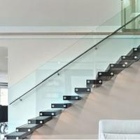Buy cheap China supplier building materials frameless standoff glass railings product