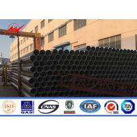 Buy cheap Round 10kv ~ 550kv Power Steel Tubular Pole For Transmission Line Project from wholesalers