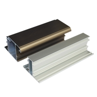 Buy cheap OEM T5 T6 Anodized Champagene 0.9-1.5mm Aluminum Window Profiles product