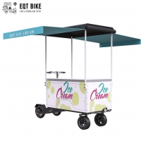 Buy cheap EQT Electric Scooter Ice Cream Bike Cart Battery Support Cargo Bike For Cold Drinks Front Load Business Bike product