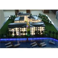 China Architectural scale plastic model for 3d building ,physical model for beach holiday on sale