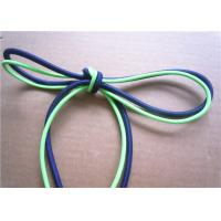 Buy cheap Elastic Polished Cotton Cord Rope , Cotton Braided Cord Eco Friendly product