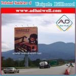 High-Way Unipole Billboard Advertising Display in Africa