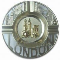 Buy cheap Promotional London Ashtray, Made of Alloy, Available in Various Sizes product