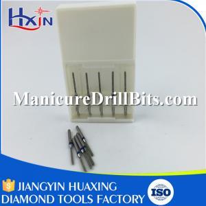 Metal Handle Nail Dust Brush For Nail Drill Machine Acid / Alkali Resistance