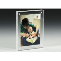 Buy cheap Clear Acrylic OEM Factory Custom Picture Frames With Magnetics product