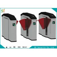 Smart Retractable Flap Barrier Gate Turnstile Security Subway Wing Gate