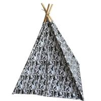Buy cheap Fast Up Kids Indoor Teepee Easy Foldable Eco - Friendly Fabric Space Saving product