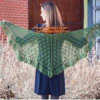 Buy cheap Lady's Crochet Knitted Shawl,Hand Knitted Shawl ,Women Poncho, Free Knitting Crochet Woman product