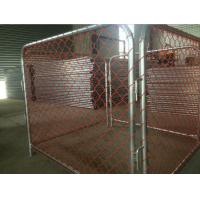 Buy cheap Temporary Chain Link Fence Panels Galvanized Or PVC Coated Anti - Climb product