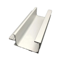 Buy cheap Extruded Kitchen G Handle Cabinet 6063 Aluminum Alloy Extrusion product