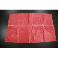 Buy cheap Plastic Medical Water Soluble Disposable , Red Dissolving Laundry Sacks product