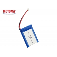 Buy cheap Ultrathin 430mAh Batteries For Iot Devices 4x30x40mm ISO9001 approval product