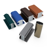 Buy cheap Blue Powder Coated Aluminium Profiles For Building Decoration product