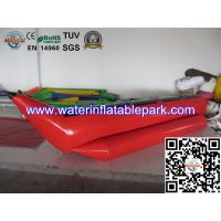 Buy cheap 4 People Inflatable Banana Boat / Inflatable Water Games Toy For Adults product