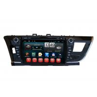 Buy cheap Touch Screen Toyota 2014 Corolla GPS Navigation / DVD Player with iPod BT SWC TV product