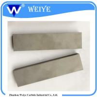 Buy cheap Customized Tungsten Carbide Strips For Centrifuge Crusher To Broken Plastic product