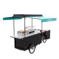 Buy cheap Electric Scooter Food Cart Easy Cleaning With Large Product Operation Space product
