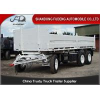 Buy cheap Bulk Cargo Side Wall Trailer FUWA / BPW Brand Axles Carbon Steel Material product