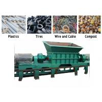 Buy cheap PC Auto Control Waste Pvc Shredder Machine / PVC Crusher Machine Twin Shaft product