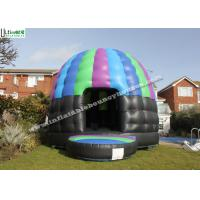 Commercial Grade Disco Bouncy Castle Dome For Parties From Ultimate Inflatables