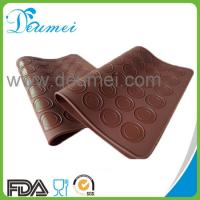 FDA Approved Food Grade Heat Resistant 48-Capacity Silicone Macarons Baking Mat