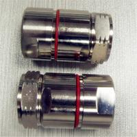 Buy cheap Straight L29 Connector Nickel Plated Coaxial DIN RF Connector Customized product