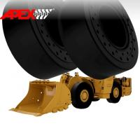 Buy cheap APEX 18.00-25 Solid Tire, Cushion Tyre for Wheel Loader, Integrated Tool Carrier, Elevating Motor Scraper product