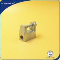 Buy cheap Zinc Plated Cast Steel Cable Clamps , Malleable Iron Beam Clamp M6 ~ M16 product