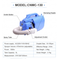 Buy cheap Hot sale electric spray machine mist cold ulv fogger for disinfection from wholesalers