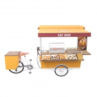 Buy cheap 1100mm Mobile Coffee Cart product