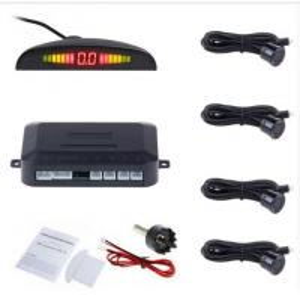 Buy cheap Car Auto Parktronic LED Parking Sensor With 4 Sensors Reverse Backup Car Parking Radar product