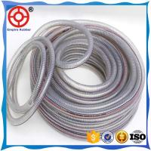 Buy cheap FLEXIBLE COLD RESISTANT RUBBER HOSE PVC STEEL WIRE HOSE product