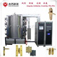 China Titanium Nitride Pvd Coating Equipment , Door  Handle and Plate PVD Ion Plating Machine on sale