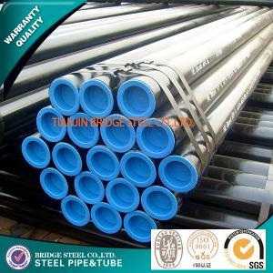 Buy cheap JIS G 3452 Black Painted Mild Steel Tube Round Q235 ASTM A500 DIN EN 10219 product