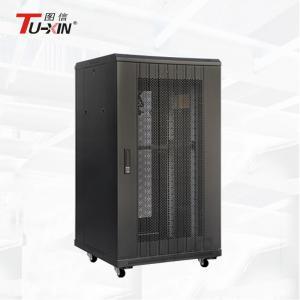 Buy cheap Floor Standing 22U Half Height Server Rack , 800mm Deep Data Rack Cabinet product