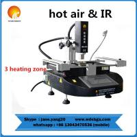WDS-430 macbook hot air smd rework soldering station with infrared heating repair machine