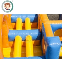 Buy cheap Customized size inflatable obstacle course race obstacle course inflatable product