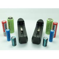 Quality Longest Lasting 18650 Li Ion Battery , Universal Lithium Ion Camera Battery Charger for sale