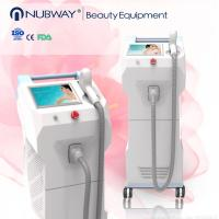 Buy quality CE approval 70J/c㎡ 808 nm skin rejuveantion diode laser hair removal machine at wholesale prices