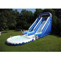 Buy quality Double Lane Inflatable Water Slide , Durable Material Inflatable Water Slide For Playing at wholesale prices