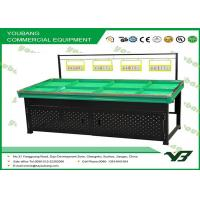 Buy quality Promotional Stand Fruit Vegetable Display Rack and Shelf for grocery store , retail at wholesale prices