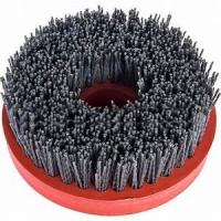 China 4 / 5 Snail Lock Antique Stone Brush Chemical Stability For Engineered Stone Surface on sale