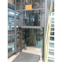 Buy cheap 16M Height Guide Rail Lift , 2000Kg Cargo Elevator Conveyors product